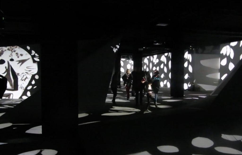 Médiation culturelle, art et vidéomapping