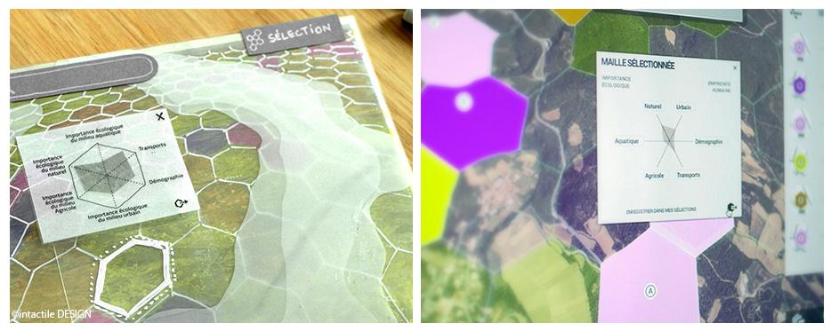 Application web de cartographie 3D, Intactile Design & Co