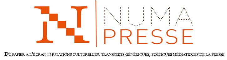 Numérisation et analyse de la presse française